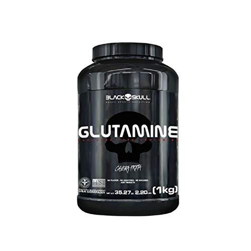 Glutamine - Sem Sabor 1000g, Black Skull