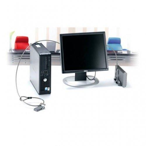 Kensington Technology k64665us / Kensington k64665usデスクトップおよび周辺機器ロックキット( Midブラウン)   B00K0BO3LG