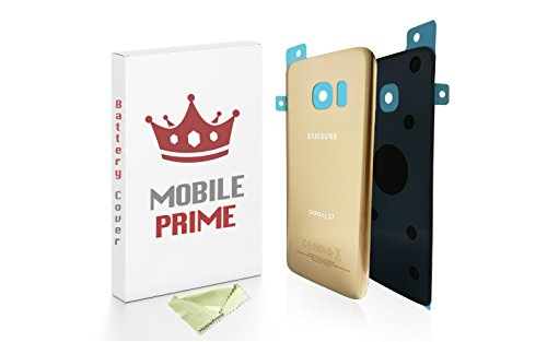MOBILEPRIME Replacement Back Glass Back Cover for Samsung Galaxy S7 (Gold)