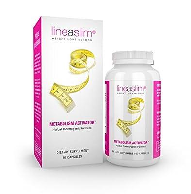 Lineaslim® Metabolism Activator Herbal Thermogenic Formula, 60 Capsules