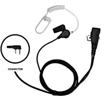 IMPACT Surveillance Earpiece with Acoustic Tube for Kenwood 2-Pin Radio