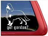 Got Gordon? ~ Gordon Setter Vinyl Window Auto Decal Sticker