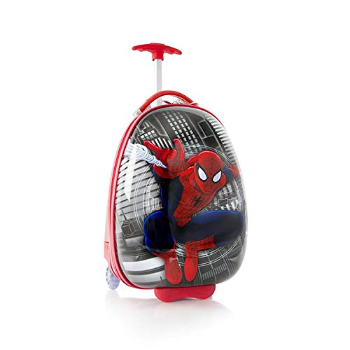 "Marvel Spiderman Boy's 18"" Rolling Carry On Luggage"