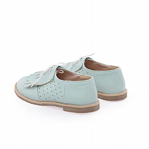 Shoes Flats Tassels Fashion Cute Lace Women's Shoes Sweet Carol Comfort Casual Blue up Oxfords dvfwTxnq