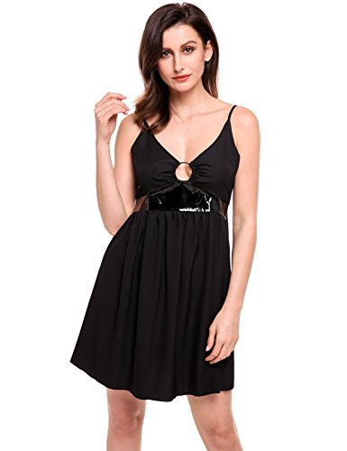 ANGVNS Summer Sleeveless Adjustable Strappy