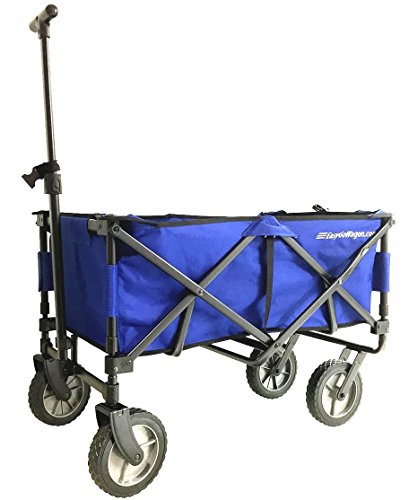 easygowagon-20-blue-folding-wagon-collapsible-heavy-duty-utility-pull-wagon-fits-in-trunk-of-standar