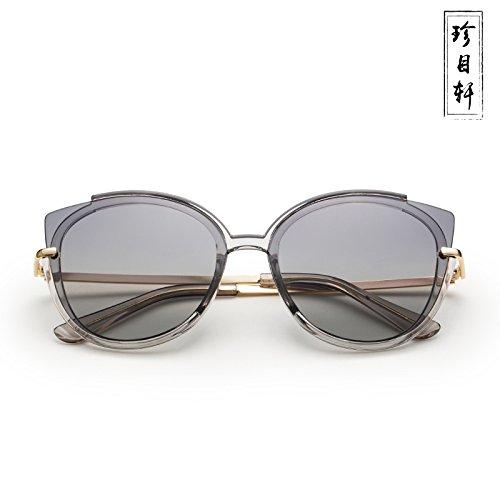 Black Gafas Sol zhenghao Xue Gray De wIaZnO