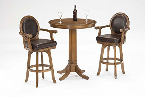 Hillsdale Warrington 3-Piece Pub Set