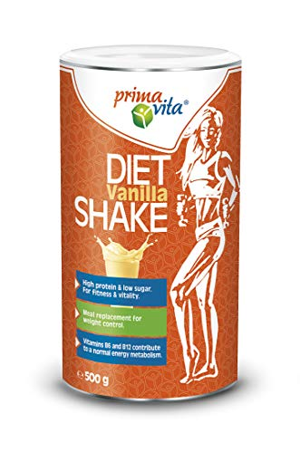 Primavita – Meal Replacement Diet Shake, Vanilla, 500g (10 Portions)