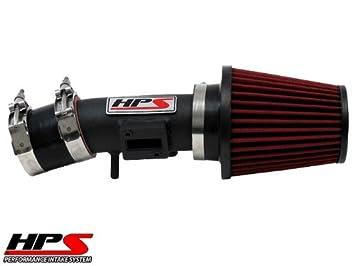 Non-CARB Compliant HPS 27-102WB Black Short Ram Air Intake Kit
