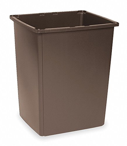 Rubbermaid FG256B00OWHT Garbage Can Glutton Container 56 gallon 25.5