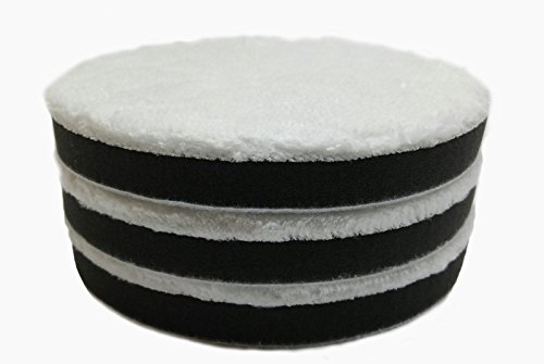 "6"" -3 Pack Microfiber Buffing Pads- (Final Polish)"