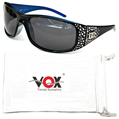 Vox Womens Polarized Sunglasses Designer Fashion Eyewear w/Microfiber Pouch
