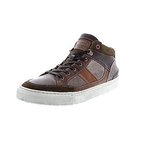 LLOYD 17-064-39 - Zapatos de cordones de Piel para hombre, color azul, talla 44 EU
