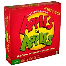 Toy / Game Mattel Apples Party Box - The Game Of Hilarious Comparisons (Family Edition) - Get Ready To Play!