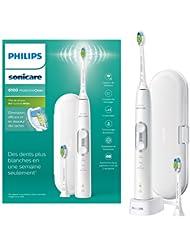 英亚:Philips Sonicare ProtectiveClean 6100 电动牙刷 带旅行牙刷盒 3 种清洁模式,3种强度&附赠牙刷头 – 白色,现价:£179.99