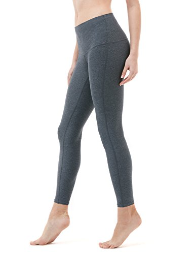 TM-FYP52-HCC_Medium Tesla Yoga Pants High-Waist Tummy Control w Hidden Pocket FYP52