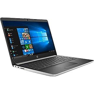 "HP 14"" HD (1366x768) Laptop, Intel Pentium Gold 2.3GHz Dual Core, 4GB DDR4-2400MHz, 128GB SSD, Wifi, Bluetooth, Windows 10 Home S, 14-CF0012DX (Renewed)"
