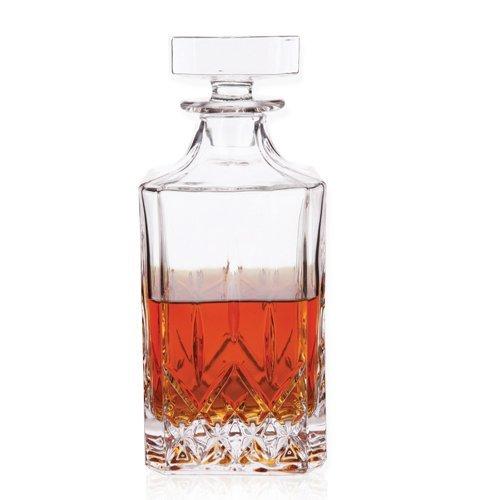 Viski True Fabrication 3772 Admiral Liquor Decanter, Multi Color