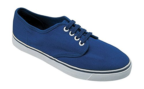 Mirak Lace-Up Textile Lined Mens Shoes - Navy - Size 42 43 44 45 46 Navy
