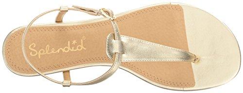 Justin Wedge Gold Women's Sandal Splendid 15wpEq4