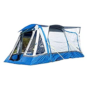 OLPRO Outdoor Leisure Products Loopo Breeze 3.9m x 3.1m Inflatable Drive Away Campervan Awning Blue & Grey