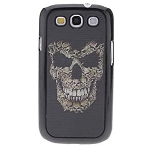 Skull Pattern Case duro con gráfico 3D para Samsung I9300 Galaxy S3