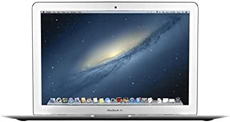 Apple MacBook Air 13.3-Inch Laptop MD760LL/B, 1.4 GHz Intel i5 Dual Core Processor (Certified Refurbished)