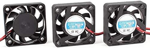 Value-5-Star 3 Pcs 4cm 2 Pin DC Brushless 12VDC 0.10A CPU Cooler Cooling Fan