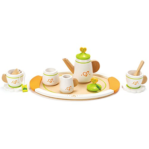 Sugar Afternoon Tea - Hape Tea for Two Wooden Play Kitchen Accessory Kit