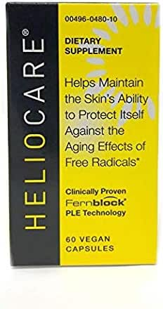 Heliocare Antioxidant Supplement for The Skin 60 Capsules (2 Pack)