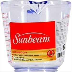 - Sunbeam Measuring Cup, 2.5 Cup by Sunbeam