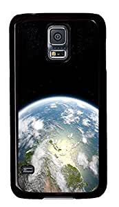 Samsung Galaxy S5 carrying covers Planet Earth 3 PC Black Custom Samsung Galaxy S5 Case Cover