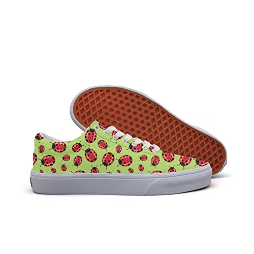 Bug Seamless Stock Vector Women's Casual Shoes Sneakers Skateboard Lo-Top New Comfortable -