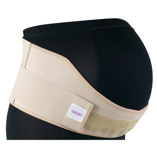 GABRIALLA Elastic Maternity Belt, BEST Medium Strength Pregnancy Support - Made in USA - Belly Band for Running & Exercising Moms, Abdominal and Lower Back Pain, Postpartum Recovery: MS-96