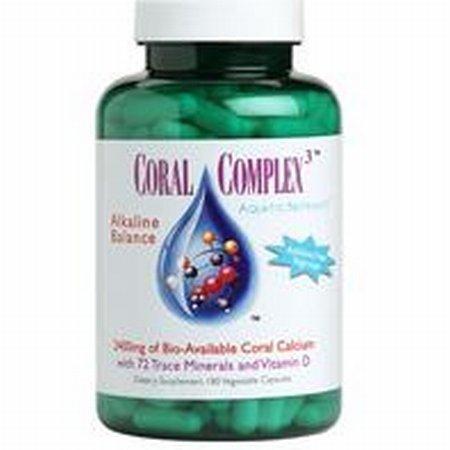 Coral Complex 3 à 180 vcaps, (calcium de corail)