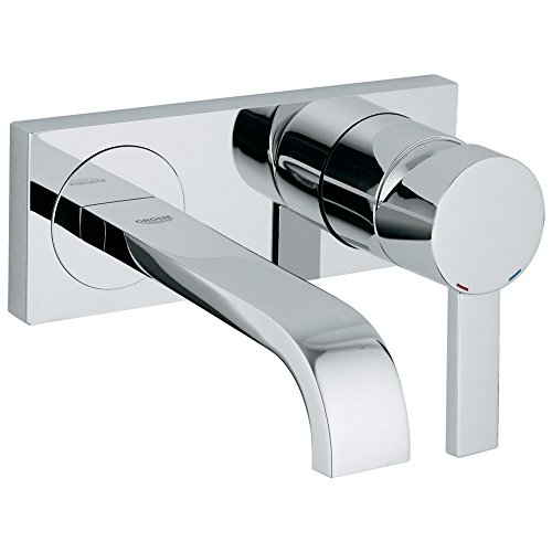 Allure Single-Handle 2-Hole Wall Mount Vessel Small Bathroom Faucet - 1.5 GPM by GROHE