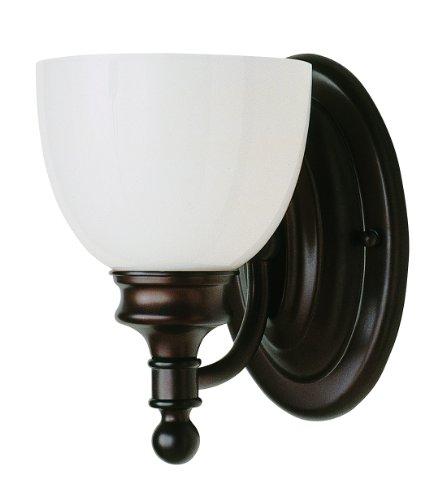 Trans Globe Lighting 34141 ROB Indoor Kovacs 6'' Wall Sconce, Rubbed Oil Bronze by Trans Globe Lighting