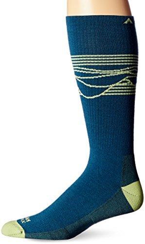 Wigwam Men's West Rim Pro Majolica Blue (Wigwam Dri Release Low Socks)