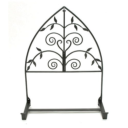 Achla Flower Box Bracket - Achla Designs Wrought Iron Posy Window Flower Box Bracket