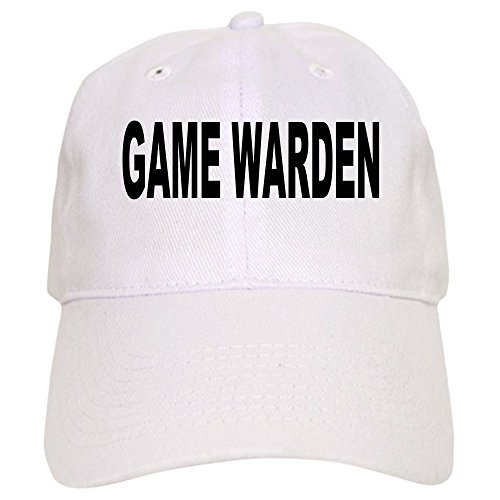 CafePress - Game Warden Cap - Baseball Cap with Adjustable Closure, Unique Printed Baseball Hat