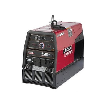 - Lincoln Electric Ranger 305 G Multiprocess DC Welder/AC Generator Featuring Chopper Technology - 305 Amp DC Welding Output, 9,500 Watt AC Power Output, Model# K1726-5
