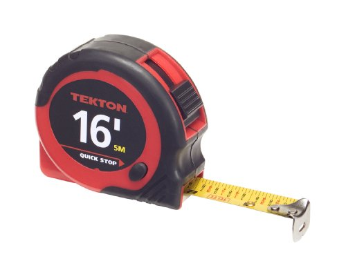 TEKTON 71952 16-Foot by 3/4-Inch Tape Measure