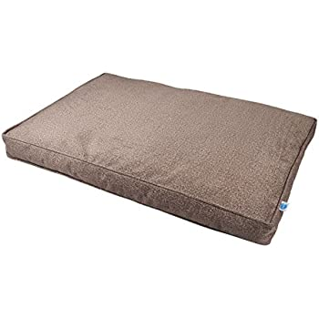 Amazon Com Messy Mutts Divine Flat Dog Bed With