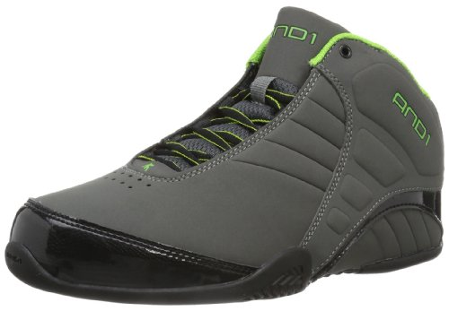 86ec2368097e9 AND1 Men's Rocket 3.0 mid-m, Asphalt/Black/Apple, 11 UK/10.5 M US ...