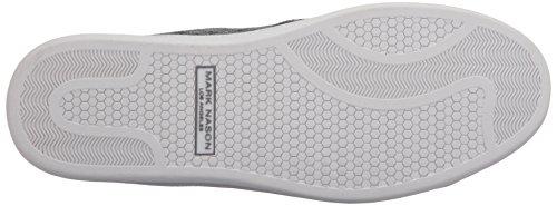 Marchio Nason Los Angeles Mens Summershade Fashion Sneaker Grigio Scuro