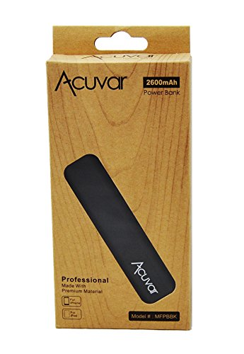 Acuvar-Power-Bank-2600mAh-Portable-Backup-Battery-Charger-with-Built-in-Flash-Light-For-Apple-iPhone-6-6-plus-iPhone-5c-Apple-iPhone-5s-Apple-iPhone-5-Apple-iPhone-4S-Apple-iPhone-4-Apple-iPhone-3GS-a
