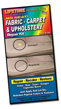 Lifetime Repair Products No Heat Fabric & Upholstery Repair Kit