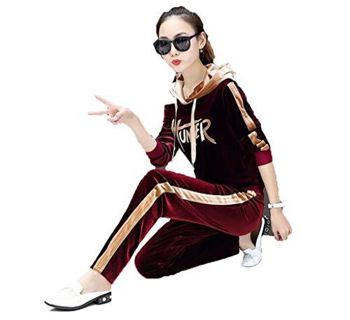 0cbb002a2a2e FAFZ Giacca Sportiva da Donna Casual Autunno Vestito Casual Abiti da Donna  Due Pezzi Maglione (Colore : B, Dimensioni : M): Amazon.it: Casa e cucina