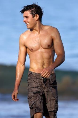 Zac Efron Poster Shirtless #01